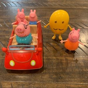 Peppa Pig Family/Car Set ✅Offer✅